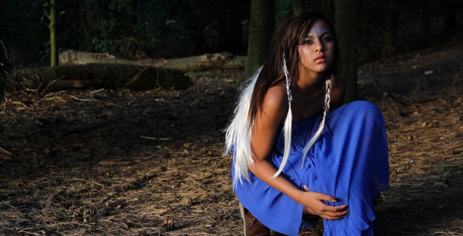 Avatar inspired outdoor photoshoot